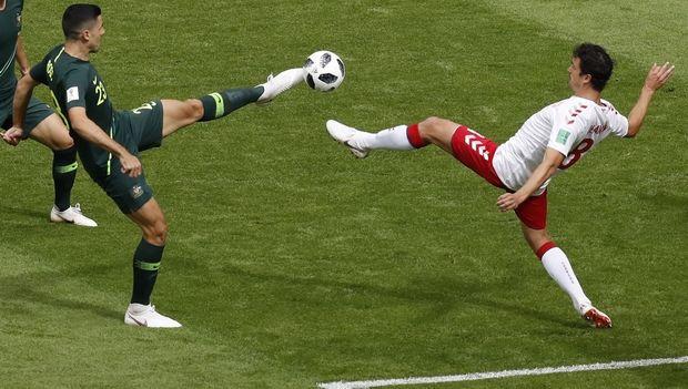 Προβάδισμα πρόκρισης για τη Δανία, 1-1 με την Αυστραλία (+videos)