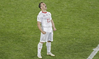 Με ανατροπή στο τέλος η Ελβετία, 2-1 τη Σερβία 12