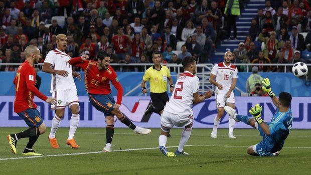 Με γκολ στο 91′ η Ισπανία, 2-2 με το Μαρόκο (photos + videos)