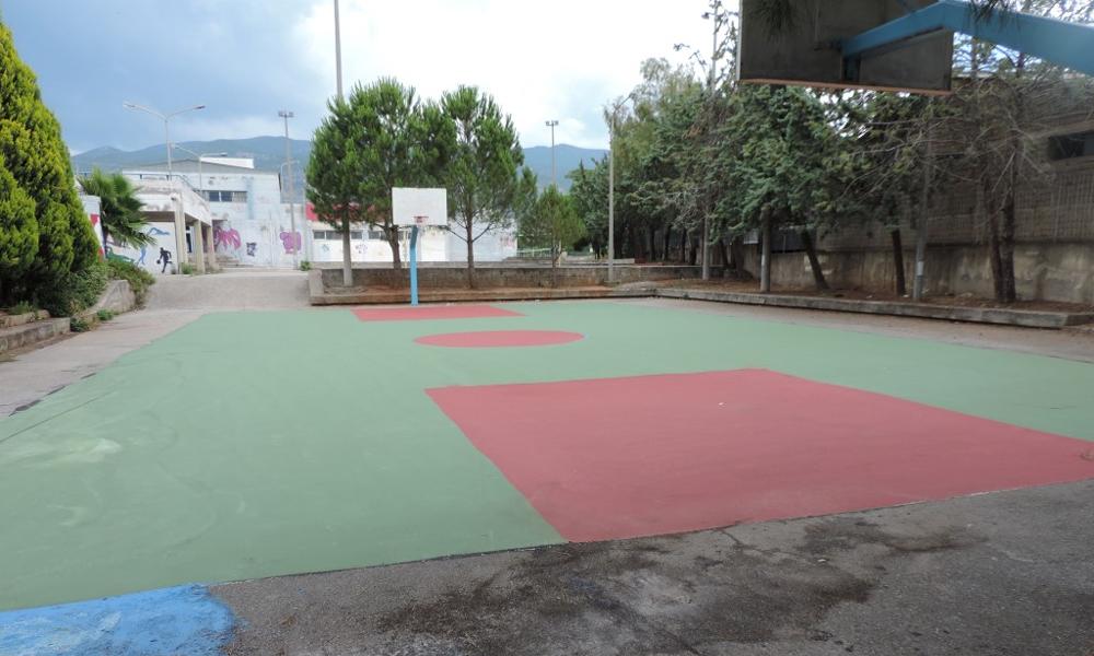 Αντιολισθηρό δάπεδο σε πολλά γήπεδα μπάσκετ και βόλεϊ