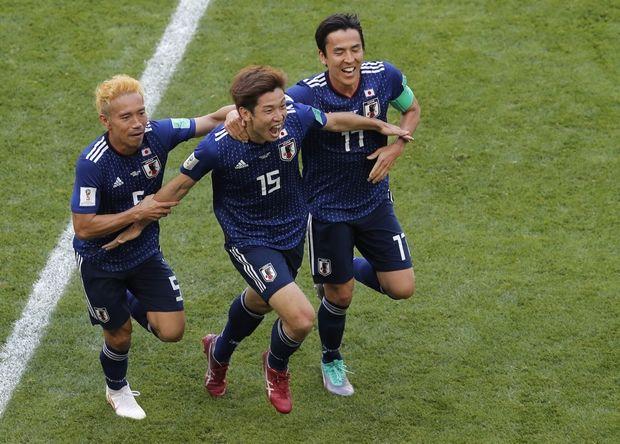 Οι Ιάπωνες 2-1 την Κολομβία (photos + video)