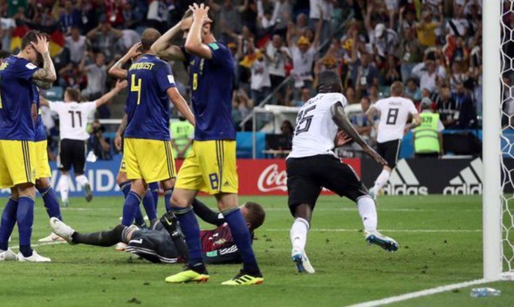 Ζωντανή Γερμανία, 2-1 τη Σουηδία με γκολ – όνειρο του Κρόος στο 95′! (photos + video)