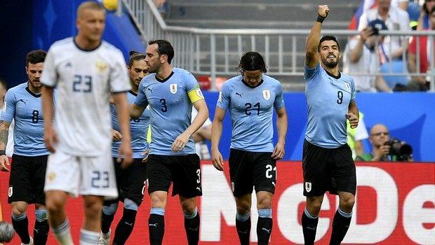 Πρωτοπόρος η Ουρουγουάη, 0-3 και τη Ρωσία! (photos + video)