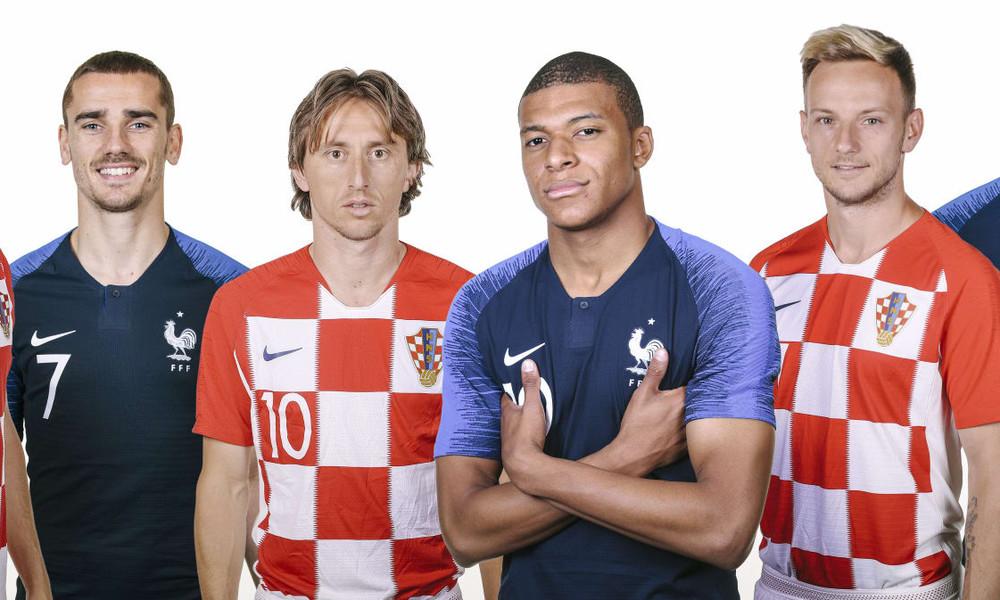 Γαλλία – Κροατία: Ο θρόνος είναι μόνο για μία!
