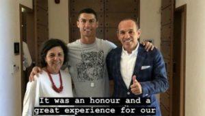 Το «ευχαριστώ» της Costa Navarino στον Κριστιάνο (photo)