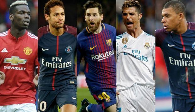 Οι 10 πιο ακριβοπληρωμένοι παίκτες στον κόσμο