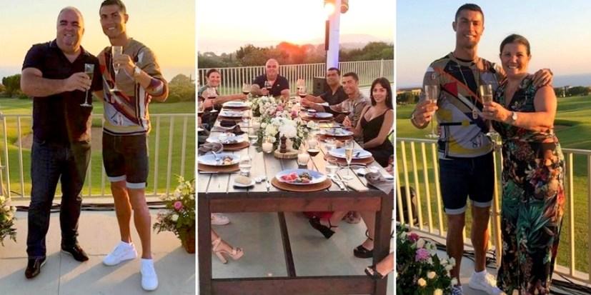 Το αποχαιρετιστήριο γεύμα του Ρονάλντο στη Costa Navarino (photos)