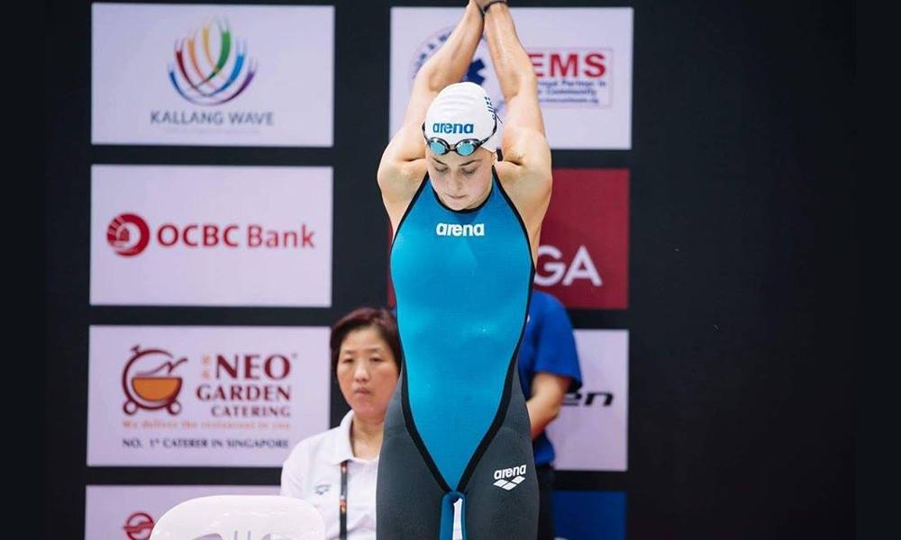 Πρωταθλήτρια Ελλάδος στα 100 μ. ελεύθερο γυναικών η Βασιλική Μπάκα!