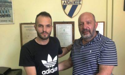 """Τα """"βρόντηξε"""" ο Γιαννόπουλος από τον Αιολικό και πήγε Ναυπακτιακό Αστέρα, μαζί με Κυριαζόπουλο... 16"""