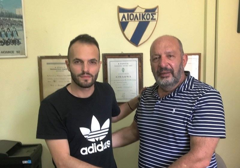 """Τα """"βρόντηξε"""" ο Γιαννόπουλος από τον Αιολικό και πήγε Ναυπακτιακό Αστέρα, μαζί με Κυριαζόπουλο…"""