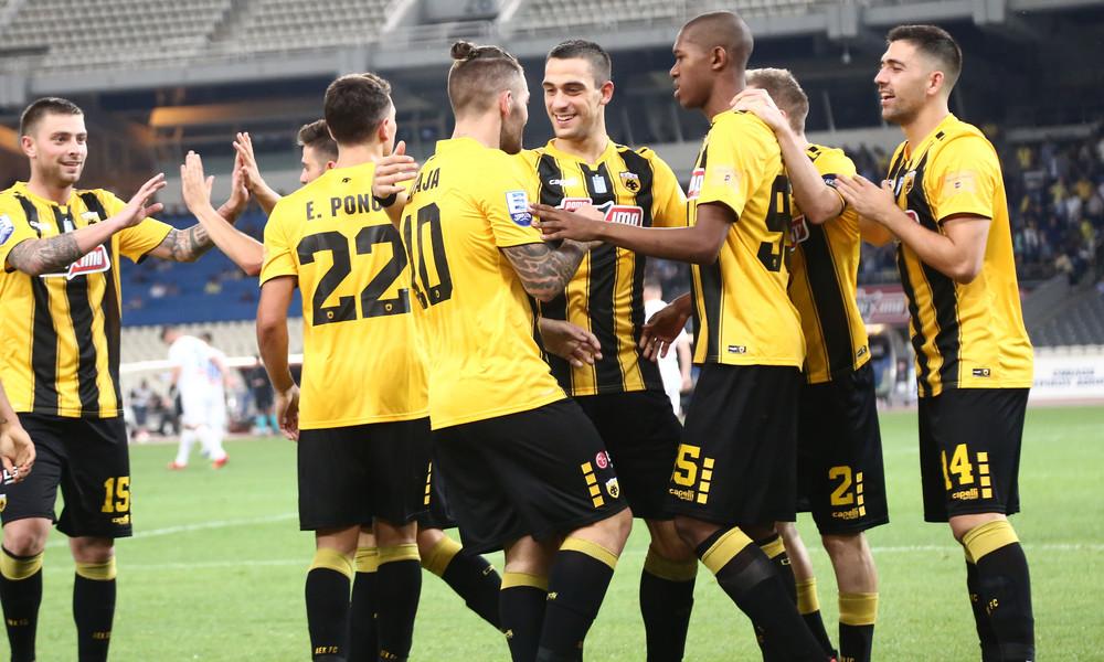 ΑΕΚ-Βίντι 1-1: Στα «αστέρια» με… θρίλερ!