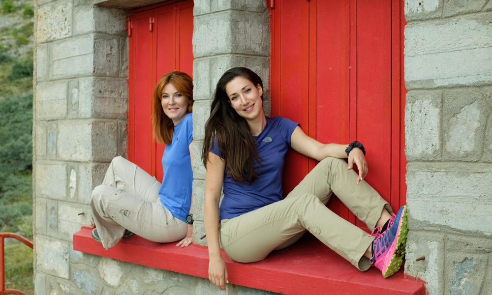 Δυο Ελληνίδες γράφουν ιστορίαστο χώρο της ορειβασίας