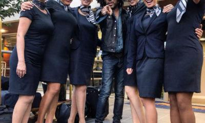Lenny Kravitz και Ντoρέτα Σκαφιδά στο Παρίσι 6