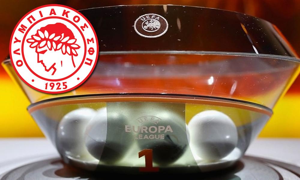 Europa League: Οι αντίπαλοι Ολυμπιακού και… ΑΕΚ