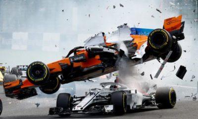 Το τρομακτικό ατύχημα στο Γκραν Πρι Βελγίου 19