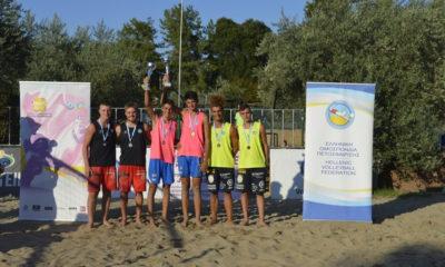 K19 Juniors Final: Χρυσό μετάλλιο για Αριστείδη και Σπύρο Χανδρινό 22