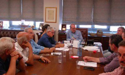 Σύσκεψη Νίκα με εκπροσώπους των σωματείων της Καλαμάτας 8