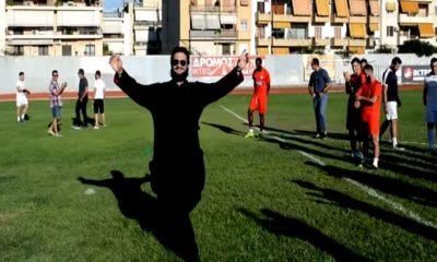 Παπάς παίζει μπάλα και... εκτελεί πέναλτι στον Αγιασμό του Πανναυπλιακού (video) 18