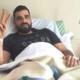 Ο Κωνσταντινέας από το κρεββάτι του, στο νοσοκομείο της Καλαμάτας... 27
