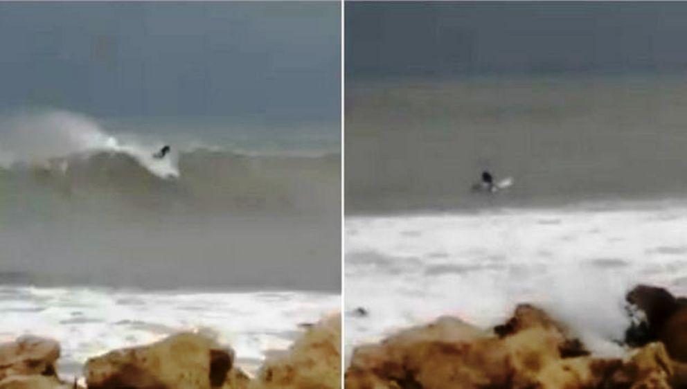 Κυκλώνας Ζορμπάς: Αδιανόητο – Σέρφερ καβαλάει τα κύματα σε Μάραθο Μεσσηνίας (video)
