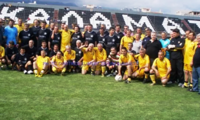 Φιλικό ο μεγάλος Γιώργος Μπιστικέας με την ΑΕΚ για τον Γιώργο Μητσέα 6