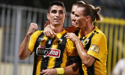 """""""Διπλό"""" (0-1) με """"μαϊμού"""" πέναλτι η ΑΕΚ, στην Τρίπολη... 7"""