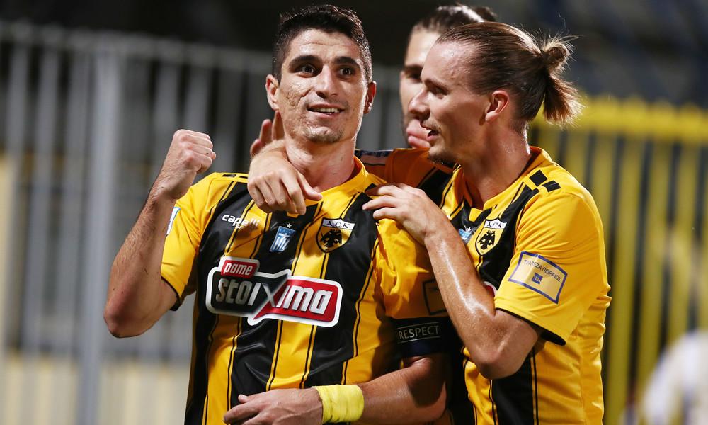 """""""Διπλό"""" (0-1) με """"μαϊμού"""" πέναλτι η ΑΕΚ, στην Τρίπολη…"""