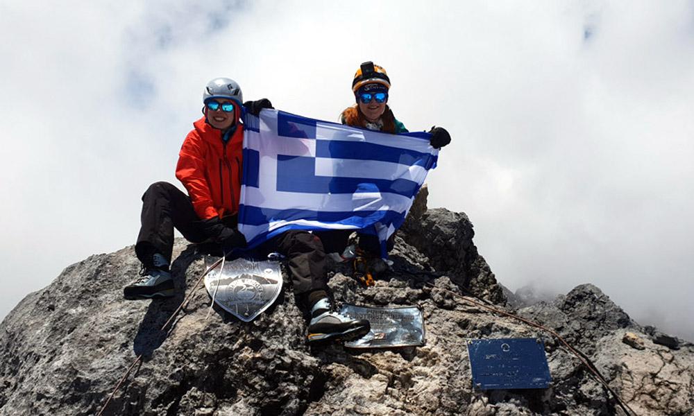 Οι πρώτες Ελληνίδες στην υψηλότερη κορυφή της Ωκεανίας