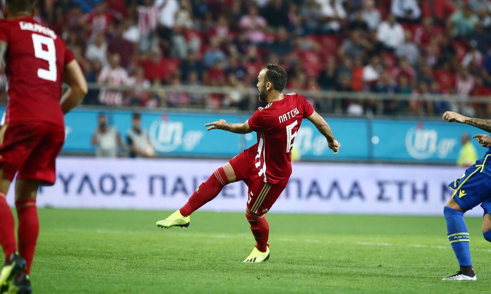 Με Νάτχο ο Ολυμπιακός 2-1 τον Αστέρα Τρίπολης