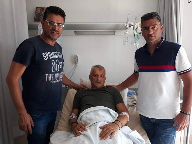 Είδαν τον Τσίρκοβιτς στο νοσοκομείο της Πάτρας…