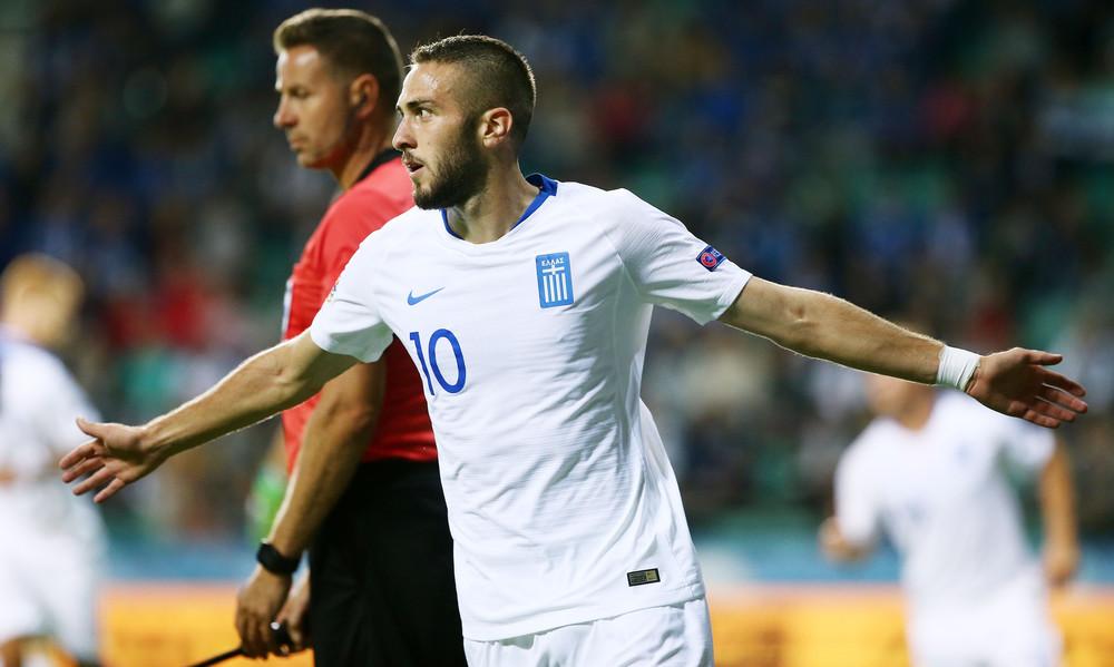 Με το δεξί στο Nations League η Ελλάδα, 1-0 εκτός έδρας την Εσθονία [video]