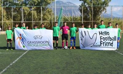 """Με επιτυχία το """"Hello Football Friend"""" στην Καλαμάτα 8"""