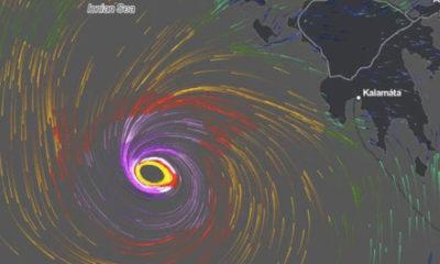 Συναγερμός και στη Μεσσηνία για τον Μεσογειακό Κυκλώνα 24