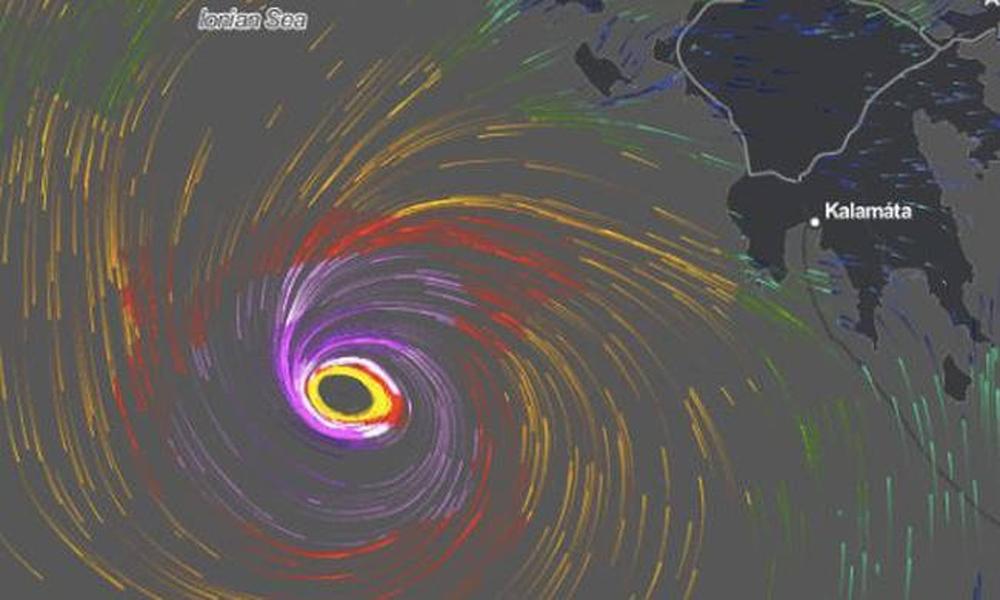 Συναγερμός και στη Μεσσηνία για τον Μεσογειακό Κυκλώνα