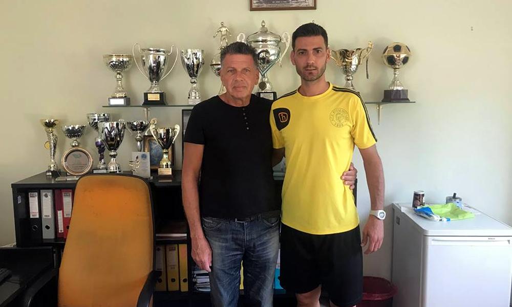 Ο Γιώργος Πουλάκος επέστρεψε στο Βύζαντα (photo)