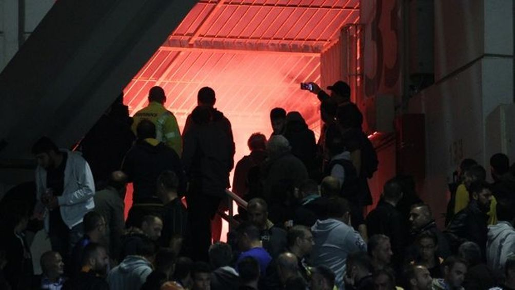 Η ΑΕΚ κινδυνεύει με τιμωρία έδρας και αφαίρεση βαθμών