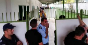 """Χοντρό """"πέσιμο"""" στα αποδυτήρια των διαιτητών στου ΜΓΣ από Κρεμαστιώτη και """"θηρία"""" του Παναργειακού! (photo)"""