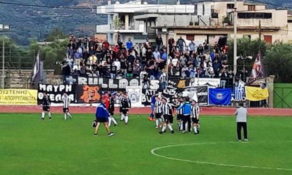 """Τρομερή ξανά Μαύρη Θύελλα… σάρωσε (0-2) και με """"μισή"""" ομάδα στη Σπάρτη την άμοιρη Πελλάνα! (photos)"""