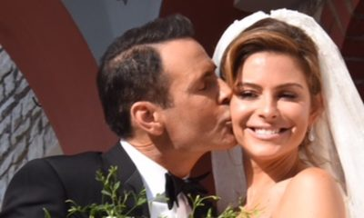 Γάμος αλά ελληνικά για τη Μαρία Μενούνος - Δείτε τη λαμπερή νύφη (photos+ video) 6