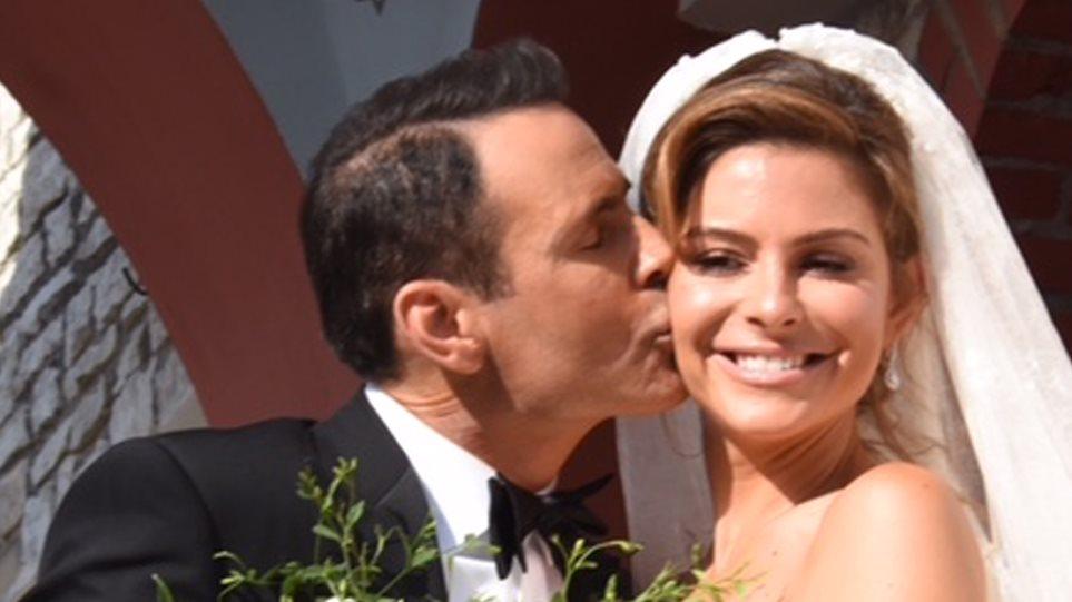 Γάμος αλά ελληνικά για τη Μαρία Μενούνος – Δείτε τη λαμπερή νύφη (photos+ video)