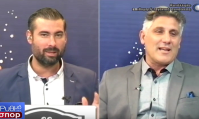 Παρουσιαστής την Kαλαμάτα... κουρεύτηκε για την ΑΕΚ! (video) 6