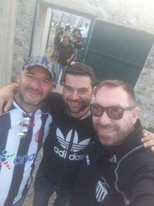 Οι τρεις… Σταύροι, ο Γιώργος & οι Αρκάδες οπαδοί της Μαύρης Θύελλας και στη Σπάρτη! (photos)