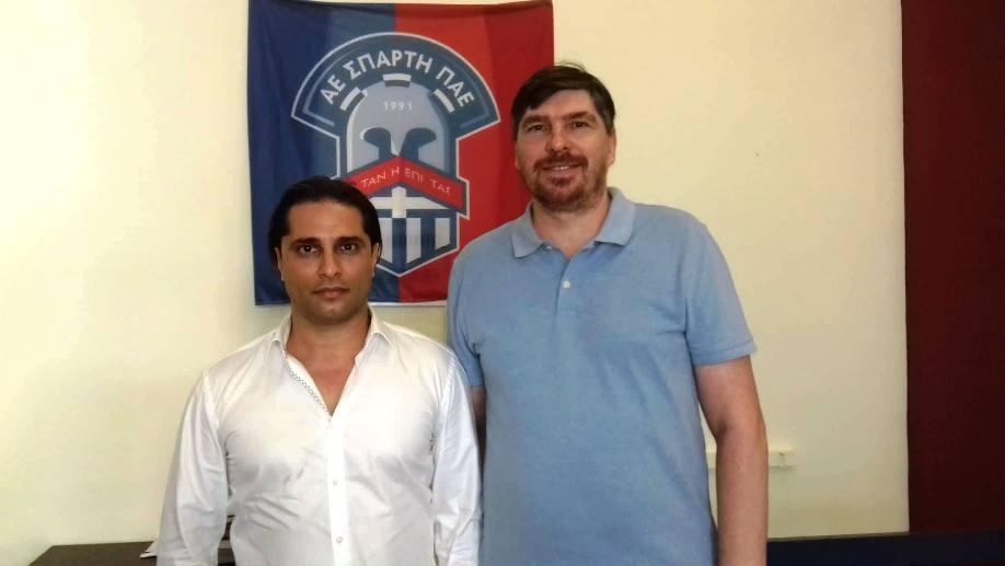 Έφτασε στην Σπάρτη, ο συμπαθής… αγωνιστής, γυρολόγος, Αντρέι Τσερνίσοφ!