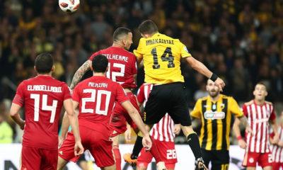 ΑΕΚ-Ολυμπιακός 1-1: Το... έσωσε με Μπακασέτα! 13