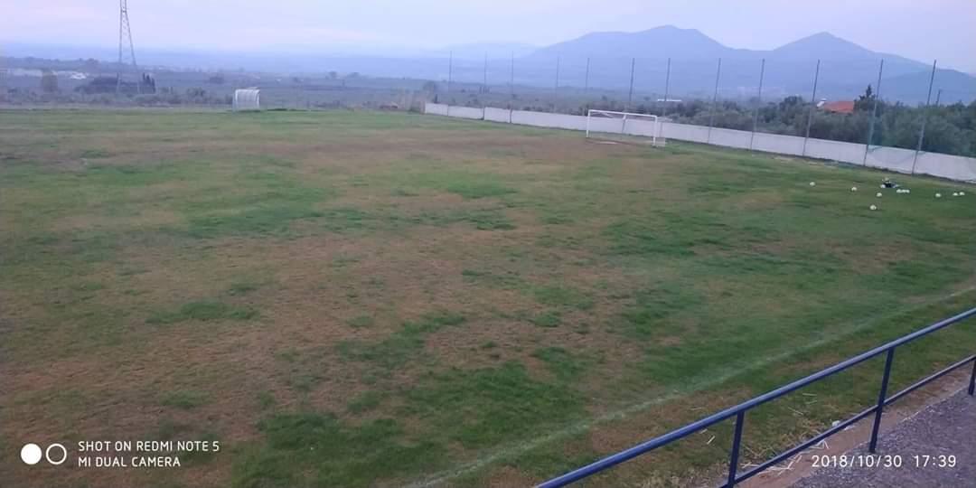 Καταστρέφεται το Δημοτικό Γήπεδο στο Αρφαρά…