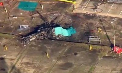 Το VIDEO με το κατεστραμμένο ελικόπτερο του ιδιοκτήτη της Λέστερ 11