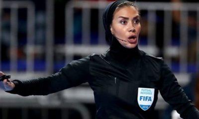 Τζέλαρεχ Ναζέμι: Η πρώτη γυναίκα διαιτητής με μπούργκα, από το Ιράν με σήμα FIFA! (photo) 5