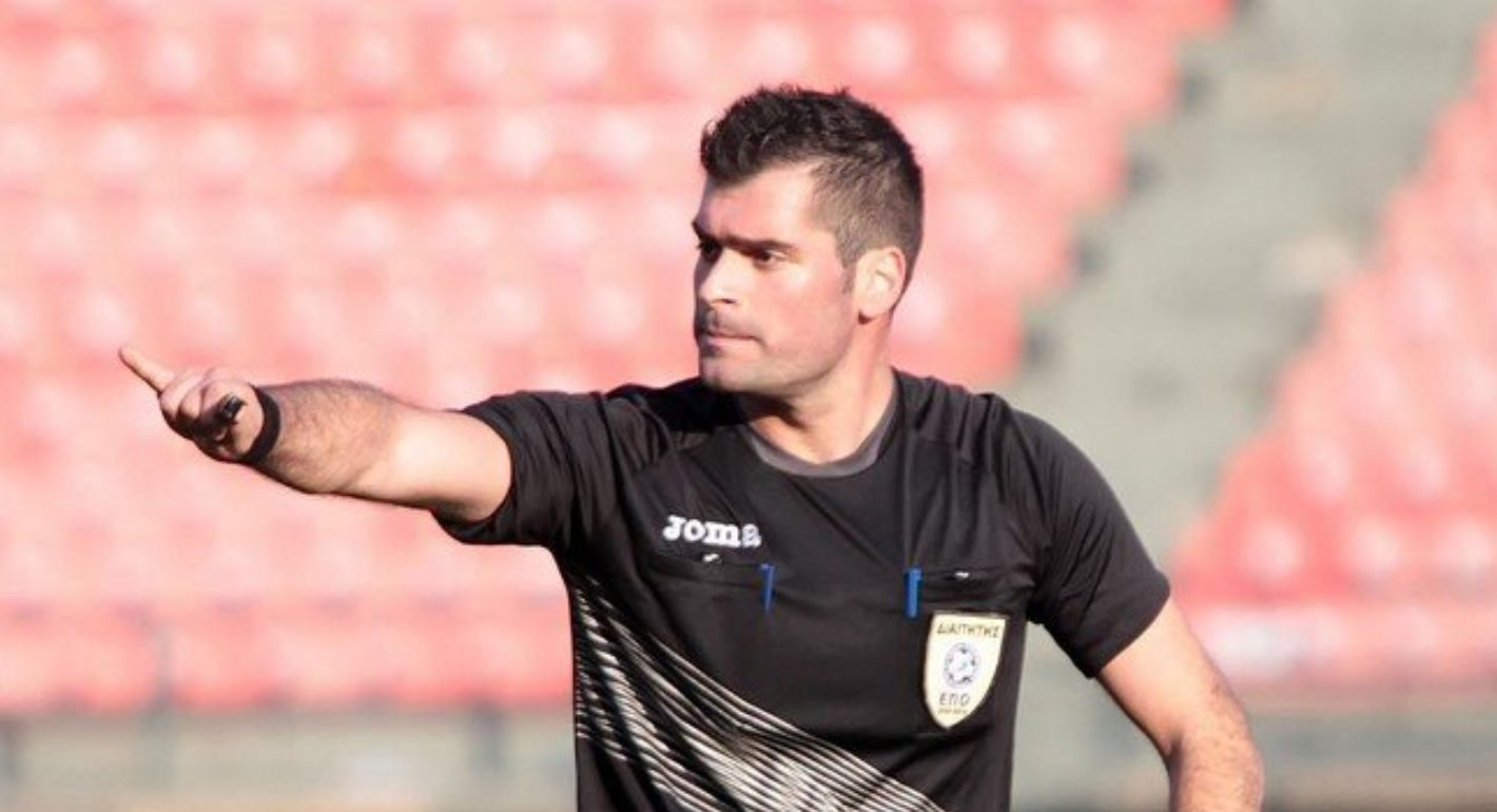 Διαιτητές Β' Εθνικής: Ο Δραγάτης στο Ηρακλής – Σπάρτη!