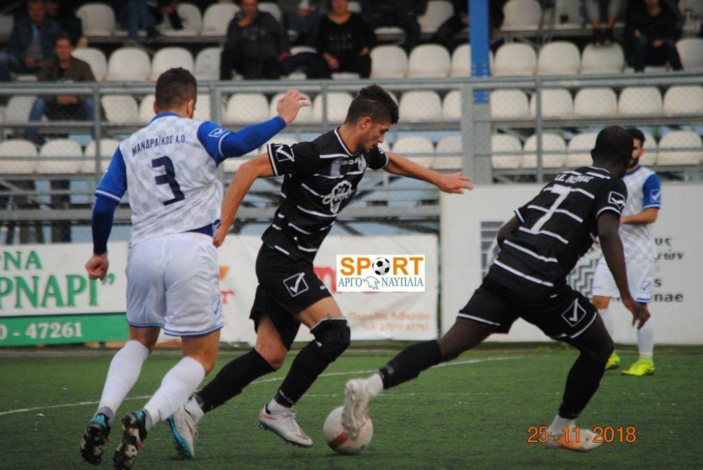 Αδικείται από το 0-0 με Λέρνα ο Μανδραϊκός…
