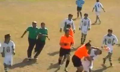 Σοκαριστικό: Παίκτες ξυλοκόπησαν διαιτητή στη Χαλκιδική για ένα πλάγιο άουτ! 6